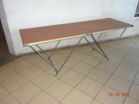 Стол складной двухсекционный 60х180